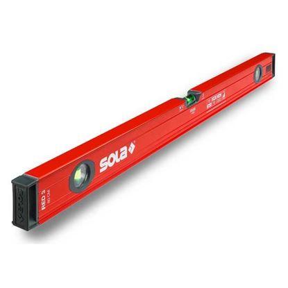 Obrázok pre výrobcu SOLA profilová vodováha RED 3 - 80cm /01215101/