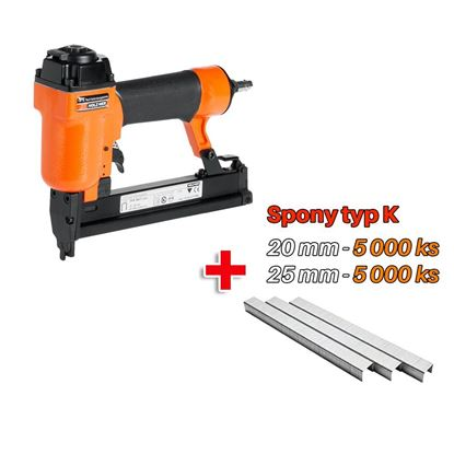Obrázok pre výrobcu KMR 3417 Sponkovačka 12100548 + 2 balenia sponiek typ K - 5 000 ks