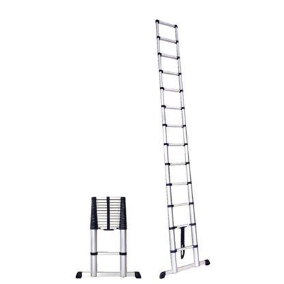 Obrázok pre výrobcu PROTECO rebrík teleskopický 3,8 m, 13 priečkový 10.66-5-38