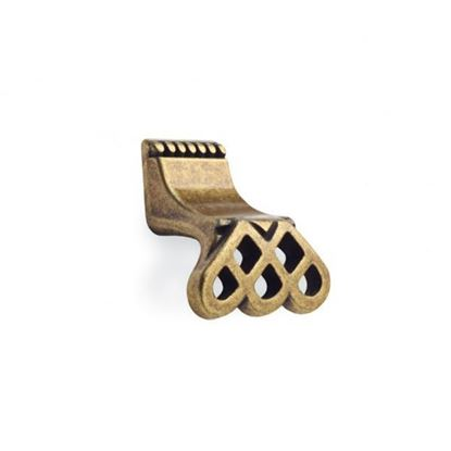 Obrázok pre výrobcu Úchytka DC CD7106-AB knopok staré zlato