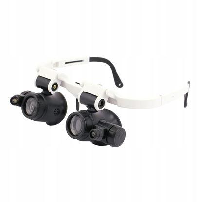 Obrázok pre výrobcu XL-TOOLS Hodinárske okuliare, LED, zväčšenie 23x, 2.LTU8