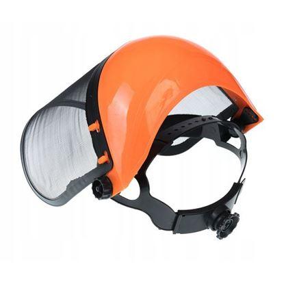 Obrázok pre výrobcu MAR-POL Ochranný štít so sieťkou pre kosenie trávy, oranžový M83093