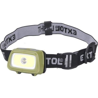 Obrázok pre výrobcu EXTOL svetlo čelovka 250lm 43108