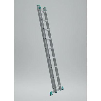 Obrázok pre výrobcu Dvojdielny univerzálny rebrík EUROSTYL (od 2,01m do 6,83m)