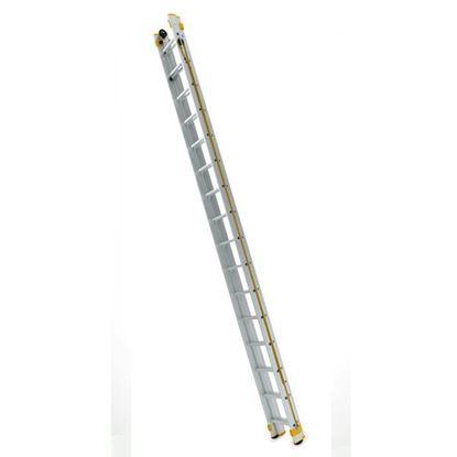 Obrázok pre výrobcu Dvojdielny výsuvný rebrík ovládaný lanom FORTE (od 4,10m- 10,62m)