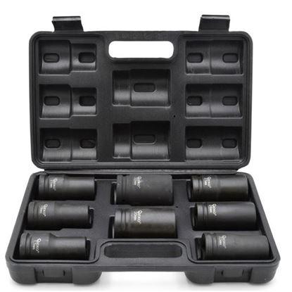 """Obrázok pre výrobcu GEKO Sada 3/4"""" priemyslových hlavíc dlhých 17-32 mm, 8-diel. v kazete G10516"""