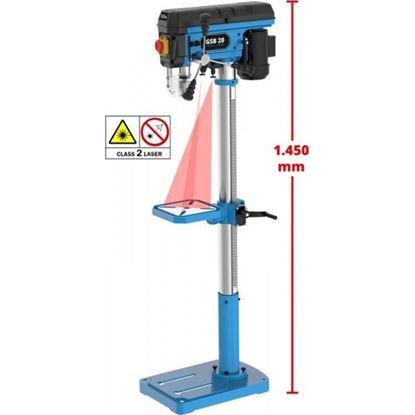 Obrázok pre výrobcu Güde Stĺpová vŕtačka GSB 20 LASER/500W  55209