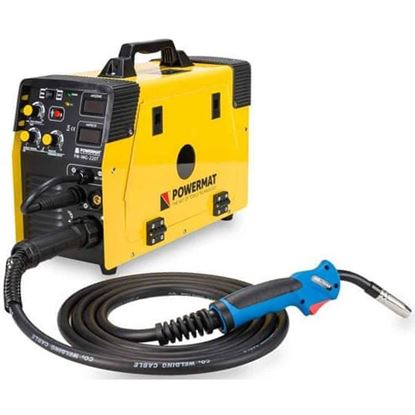 Obrázok pre výrobcu POWERMAT Zvárací invertor 220A MIG/MAG (CO2), TIG, MMA, PM-IMG-220  PM0517