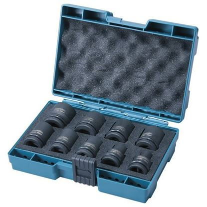 Obrázok pre výrobcu MAKITA D-41517 Sada priemyselných orechov gola 9-dielna
