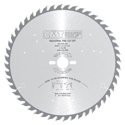 Obrázok pre výrobcu CMT Industrial Pílový kotúč pre pozdĺžne a priečne rezy