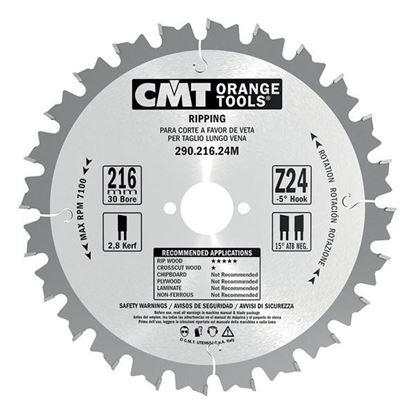Obrázok pre výrobcu CMT Industrial Pílový kotúč pre pozdĺžne rezy