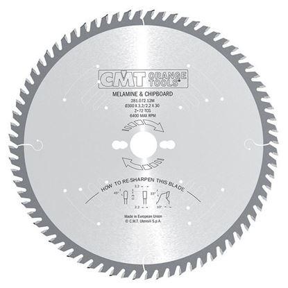 Obrázok pre výrobcu CMT Industrial Pílový kotúč na lamino a DTD C281