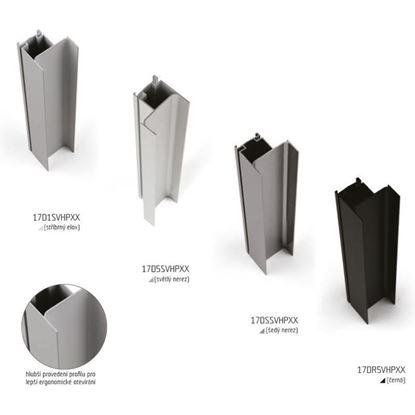 Obrázok pre výrobcu SALU GOLA profil vertikálny hranový 3m