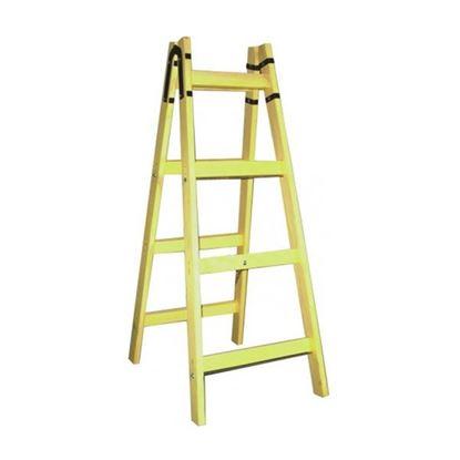 Obrázok pre výrobcu Drevený rebrík maliarsky 2x8 priečkový 91638