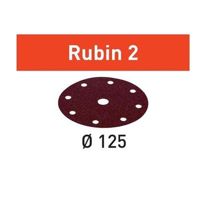 Obrázok pre výrobcu FESTOOL Brúsny výsek 125/8 RUBIN2 1ks