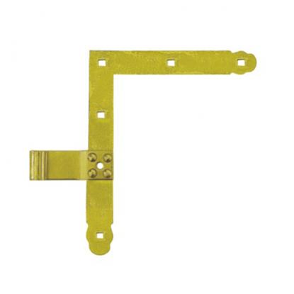 Obrázok pre výrobcu Záves vrátový rohový ZN 250/13 mm L+P 8271